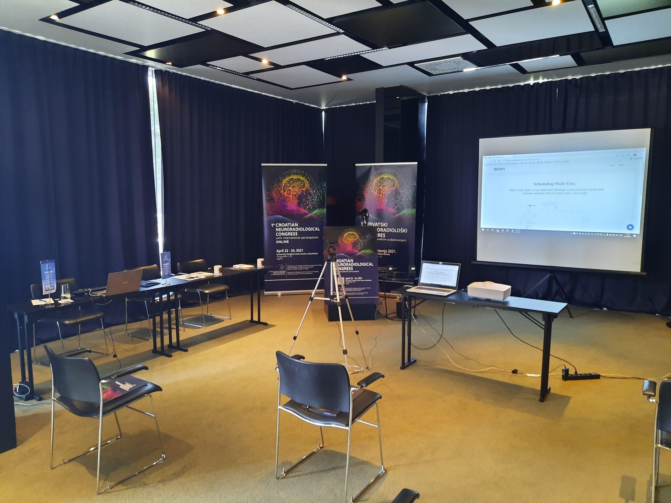 Tehnička podrška tvrtke Puppis na prvom neuroradiološkom kongresu HNRD-a